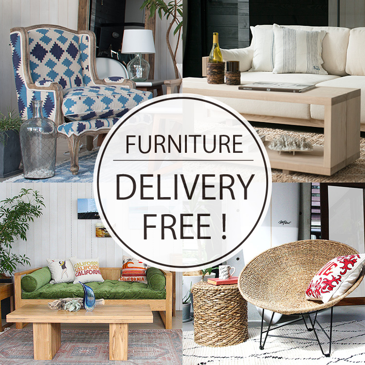 FURNITURE DELIVERY FREE!