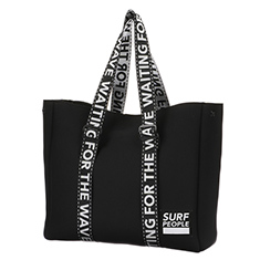 SURF PEOPLE TOTE L BK