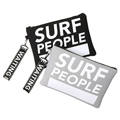 SURF PEOPLE CLUTCH BK