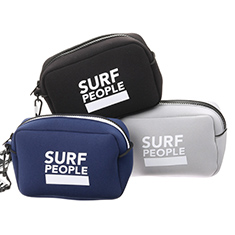 SURF PEOPLE POUCH BK