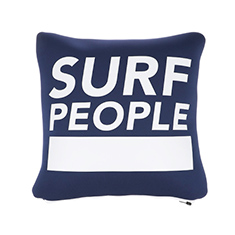 SURF PEOPLE CUSHION COVER N